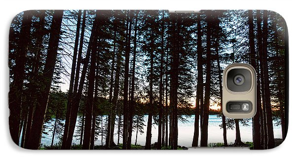 Galaxy S7 Case featuring the photograph Mountain Forest Lake by James BO Insogna