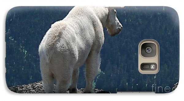 Galaxy Case featuring the photograph Mountain Goat 2 by Sean Griffin