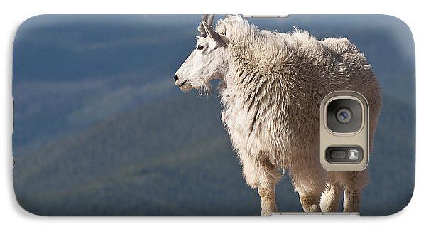 Galaxy Case featuring the photograph Mountain Goat by Gary Lengyel