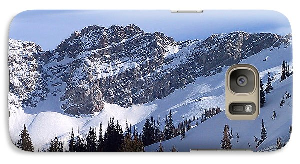 Mountain Galaxy S7 Case - Mountain High - Salt Lake Ut by Christine Till