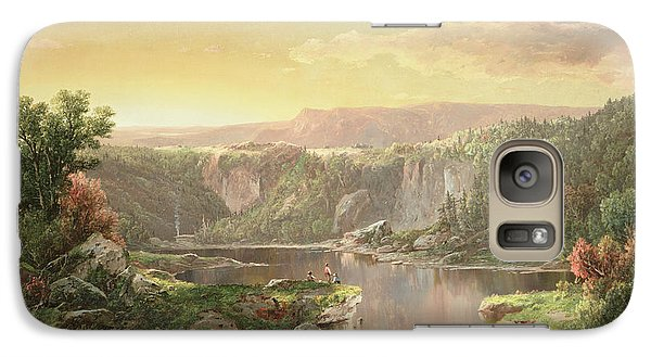 Mountain Lake Near Piedmont Galaxy S7 Case