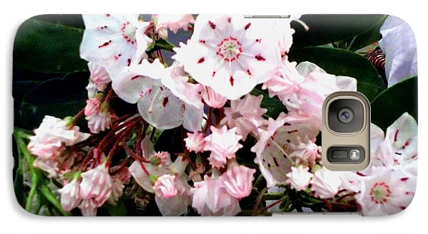 Galaxy Case featuring the painting Mountain Laurel  by Donna Dixon