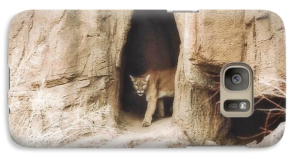 Mountain Lion - Light Galaxy S7 Case