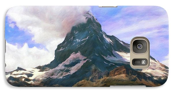 Galaxy Case featuring the photograph Mountain Of Mountains  by Connie Handscomb