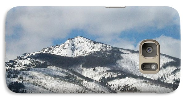 Galaxy Case featuring the photograph Mountain Peak by Jewel Hengen