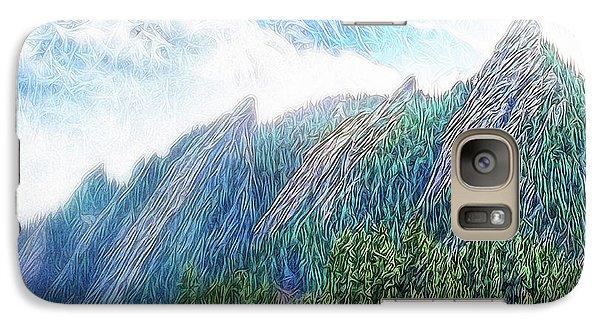 Mountain Pine Meadow Galaxy S7 Case