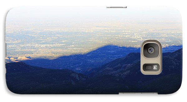 Galaxy Case featuring the photograph Mountain Shadow by Christin Brodie