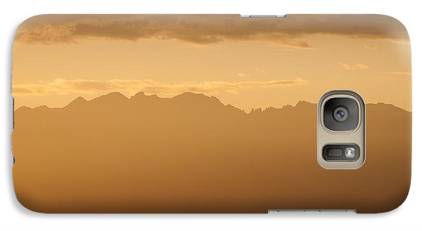 Galaxy Case featuring the photograph Mountain Shadows by Colleen Coccia