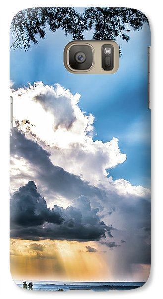 Galaxy Case featuring the photograph Mountain Sunset Sightings by Shelby Young