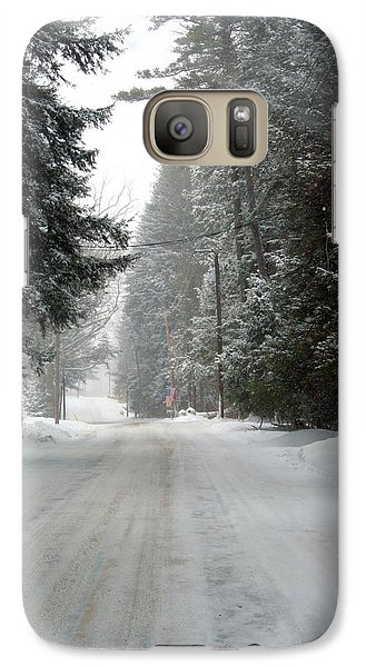 Galaxy Case featuring the photograph Mountain Trail by Denise Moore