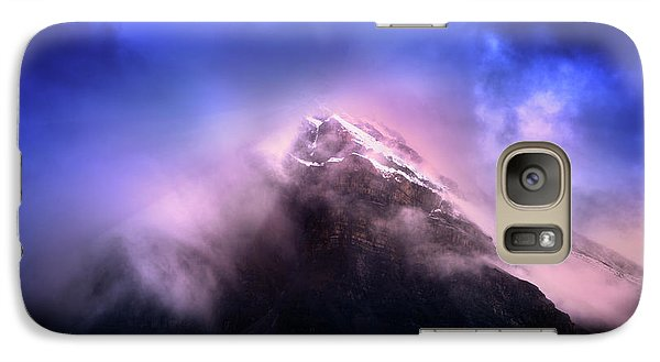 Galaxy Case featuring the photograph Mountain Twilight by John Poon