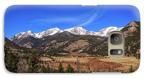 Galaxy Case featuring the photograph Mountain View From Fall River Road In Rocky Mountain National Pa by Peter Ciro