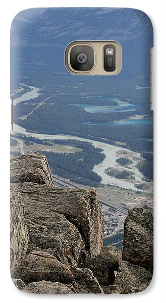 Galaxy Case featuring the photograph Mountain View by Mary Mikawoz