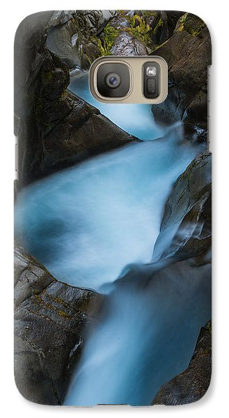 Galaxy Case featuring the photograph Mountain Waterfalls 5863 by Chris McKenna