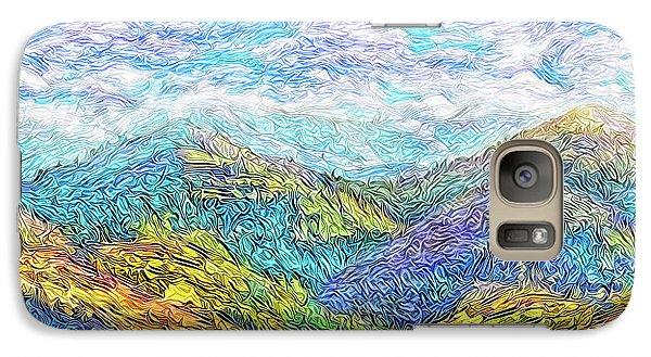 Mountain Waves - Boulder Colorado Vista Galaxy S7 Case