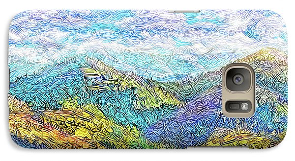 Mountain Waves - Boulder Colorado Vista Galaxy S7 Case by Joel Bruce Wallach