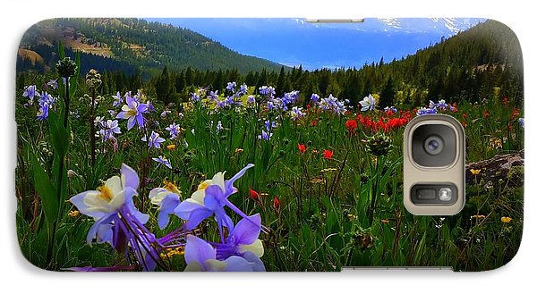 Mountain Wildflowers Galaxy S7 Case