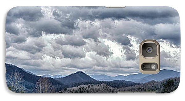 Galaxy Case featuring the photograph Mountains 1 by Walt Foegelle