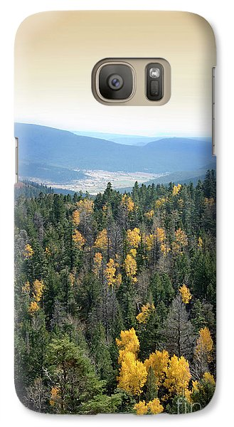 Galaxy Case featuring the photograph Mountains And Valley by Jill Battaglia