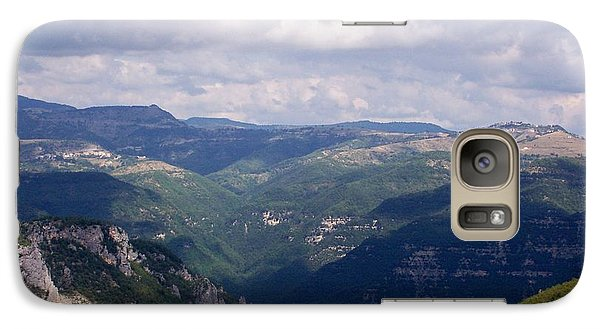 Galaxy Case featuring the photograph Mountains Of Central Italy by Judy Kirouac