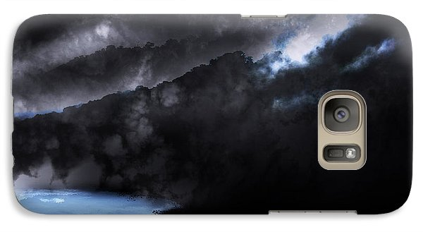Galaxy Case featuring the photograph Mountains Of The Blue Ridge by Gray  Artus