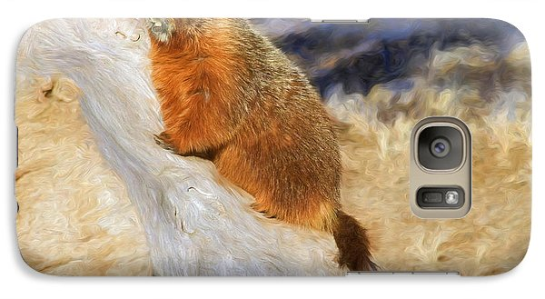 Groundhog Galaxy S7 Case - Mountains To Climb by Donna Kennedy