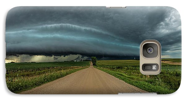 Galaxy Case featuring the photograph Mouth Of The Beast  by Aaron Groen