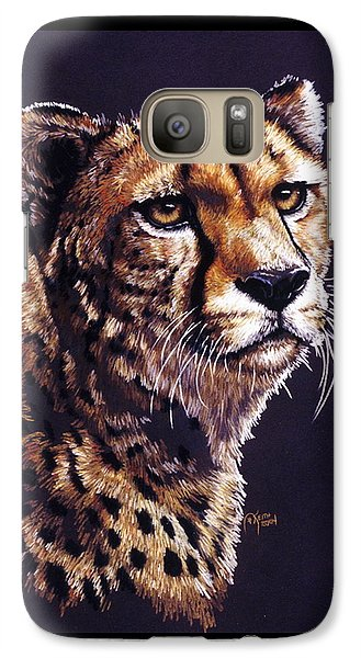 Galaxy Case featuring the drawing Movin On by Barbara Keith