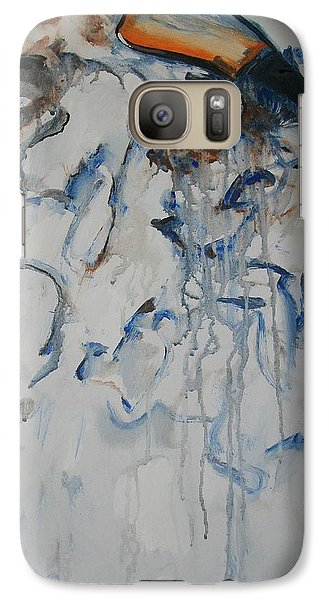 Galaxy Case featuring the painting Moving Forward by Raymond Doward