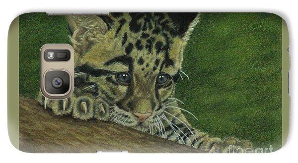 Galaxy Case featuring the painting Mowgli by Jennifer Watson