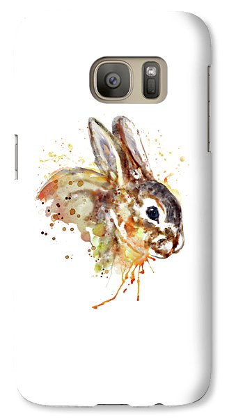 Galaxy Case featuring the mixed media Mr. Bunny by Marian Voicu