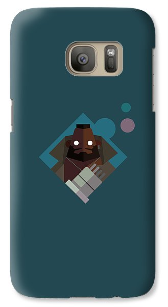 Galaxy Case featuring the digital art Mr. Wallace by Michael Myers