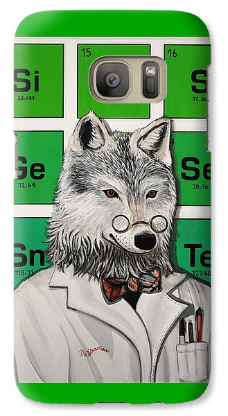 Galaxy Case featuring the painting Mr.tulamordue by Jude Labuszewski