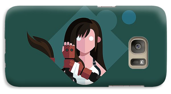 Galaxy Case featuring the digital art Ms. Lockhart by Michael Myers