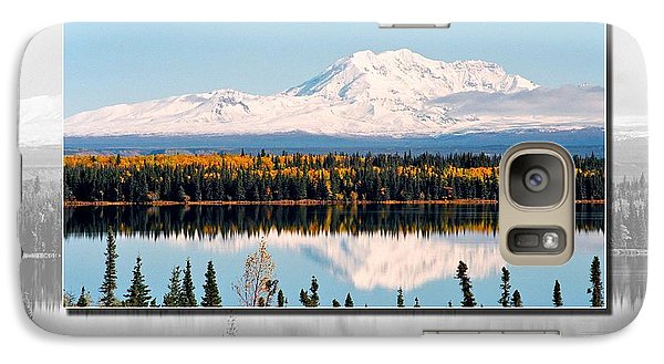 Galaxy Case featuring the photograph Mt. Drum - Alaska by Juergen Weiss