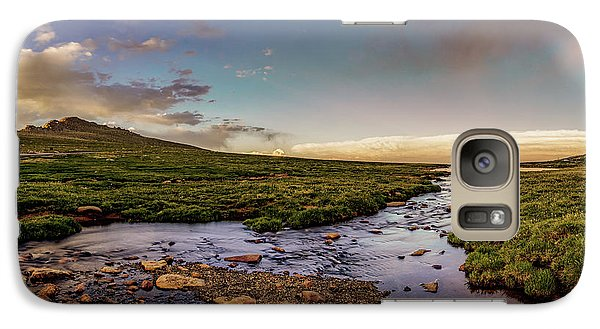 Galaxy Case featuring the photograph Mt. Evans Alpine Stream by Chris Bordeleau
