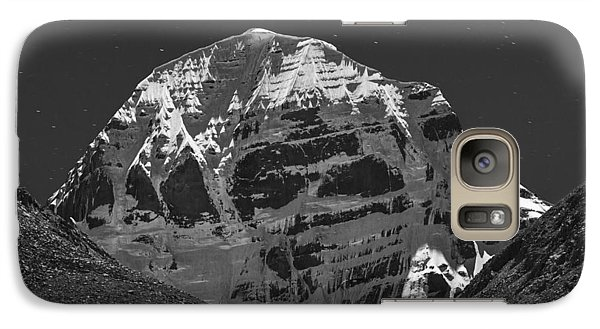 Mt. Kailash In Moonlight Galaxy S7 Case