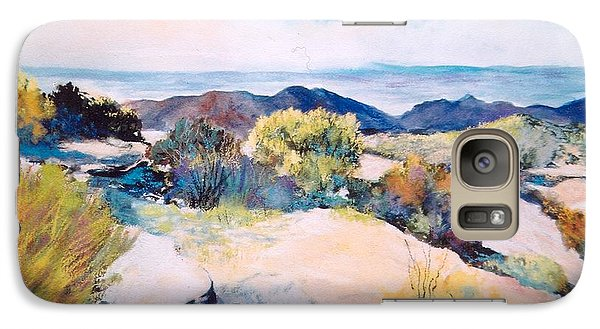 Galaxy Case featuring the painting Mt Lemmon View by M Diane Bonaparte