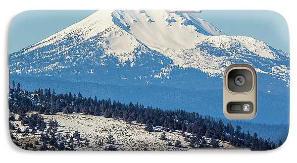 Galaxy Case featuring the photograph Mt. Mcloughlin by Marc Crumpler