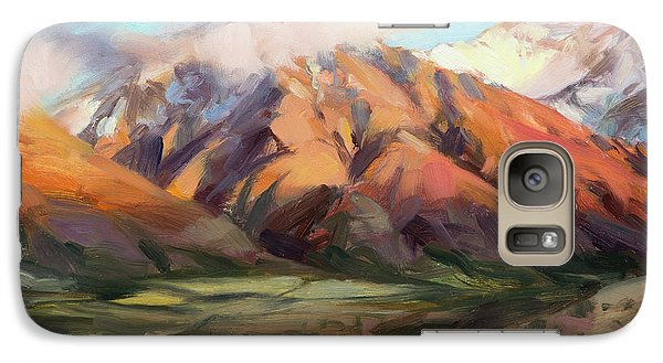 Mount Rushmore Galaxy S7 Case - Mt Nebo Range by Steve Henderson