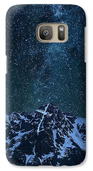 Galaxy Case featuring the photograph Mt. Of The Holy Cross Milky Way by Aaron Spong