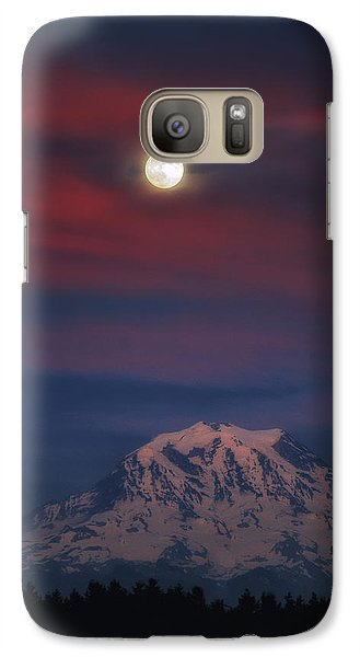 Mt Rainer Super Moon Galaxy S7 Case