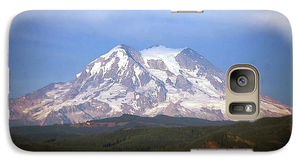 Galaxy Case featuring the photograph Mt. Rainier by Sumoflam Photography