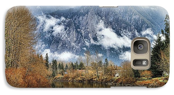 Galaxy Case featuring the photograph Mt Si by Ken Stanback
