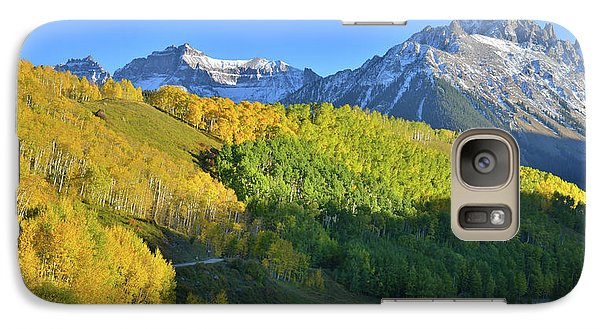 Galaxy Case featuring the photograph Mt. Sneffels From County Road 7 by Ray Mathis
