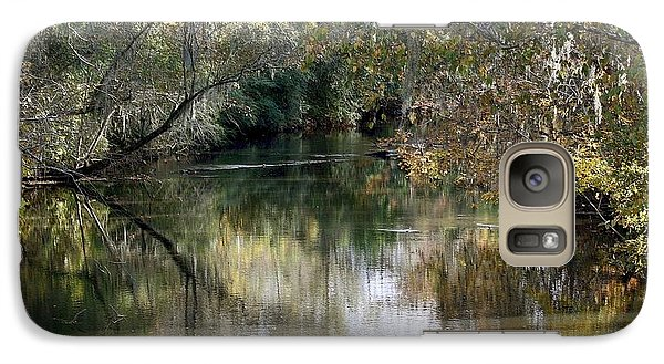 Galaxy Case featuring the photograph Muckalee Creek by Jerry Battle
