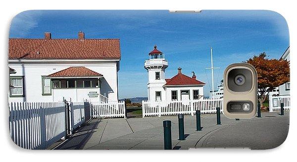 Galaxy Case featuring the photograph Muckilteo Lighthouse by Judyann Matthews