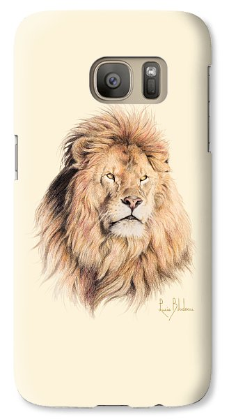 Mufasa Galaxy S7 Case by Lucie Bilodeau
