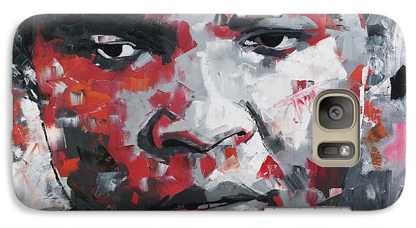 Galaxy Case featuring the painting Muhammad Ali II by Richard Day
