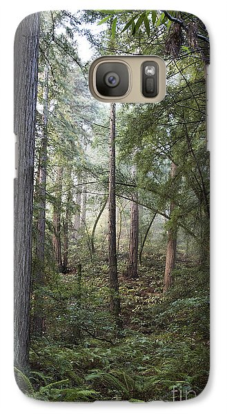 Galaxy Case featuring the photograph Muir Woods Tranquility by Sandra Bronstein
